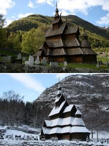 Kostel Borgund Stave